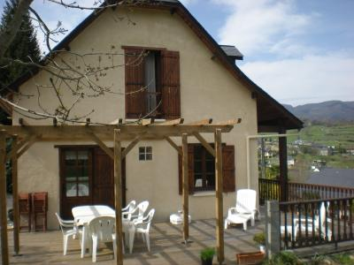 Vista exterior do alojamento Loca��o Casa de turismo rural/Casa de campo 62462 Argeles Gazost