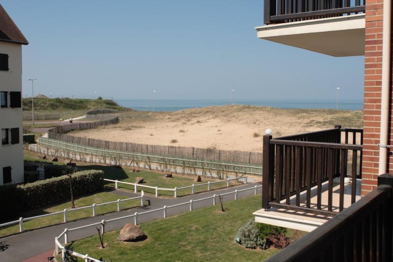 vista da varanda Locação Apartamentos 62963 Cabourg