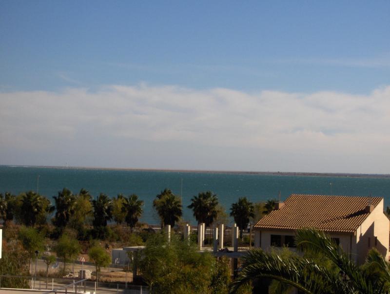 Vista do terraço Locação Vivenda 63018 L'ampolla