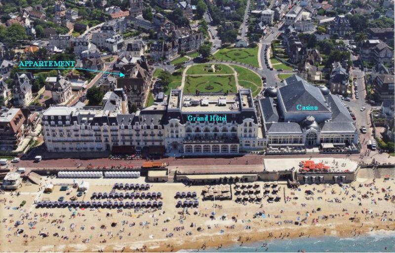 Vista exterior do alojamento Locação Apartamentos 63247 Cabourg