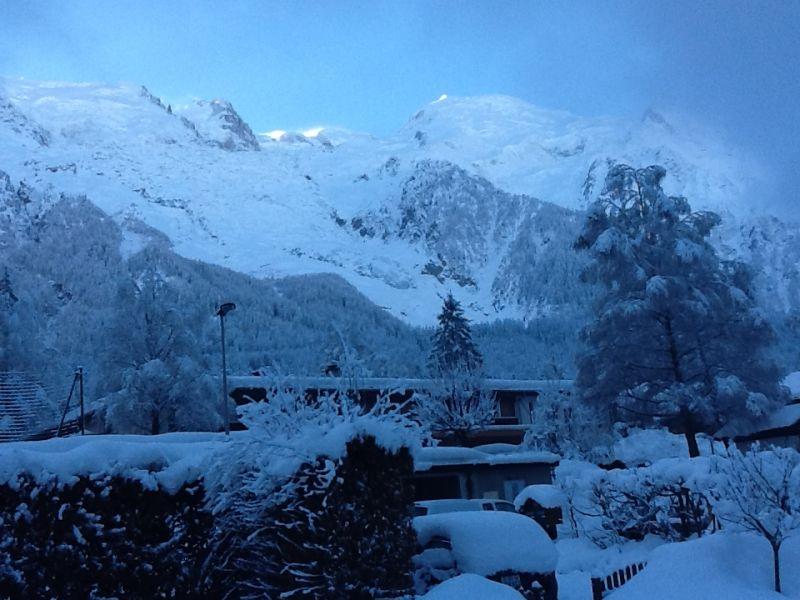 Vista desde do alojamento Locação Apartamentos 647 Chamonix Mont-Blanc