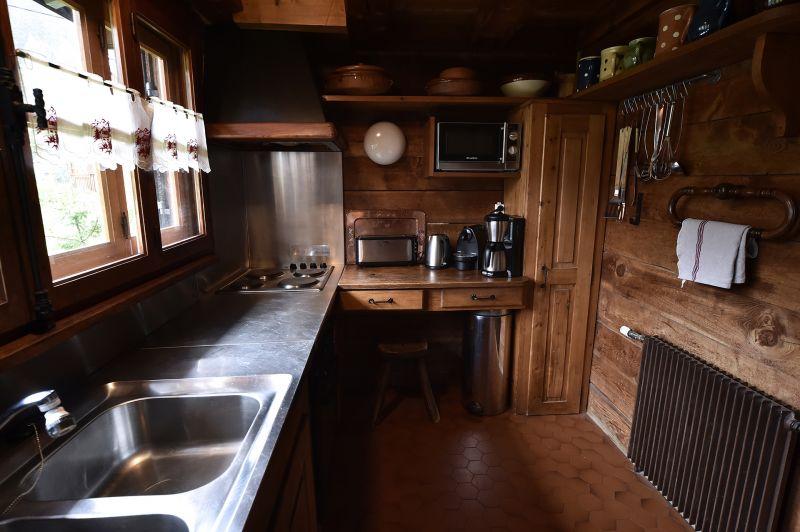 Cozinha independente Locação Chalé 706 Chamonix Mont-Blanc