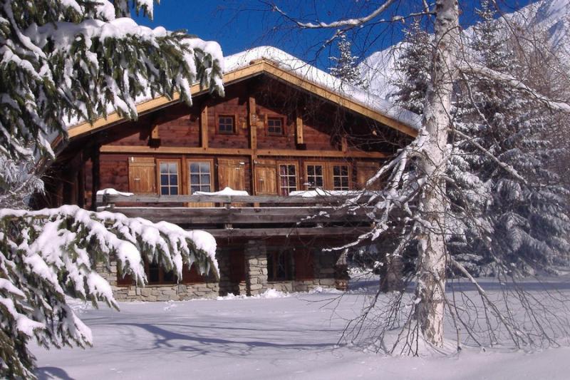Vista exterior do alojamento Locação Chalé 706 Chamonix Mont-Blanc