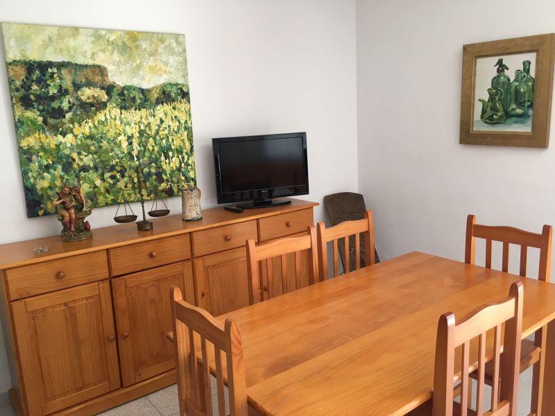 Sala de jantar Locação Apartamentos 8176 Tarragona