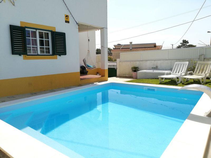Vista do terraço Locação Vivenda 65732 Lisboa