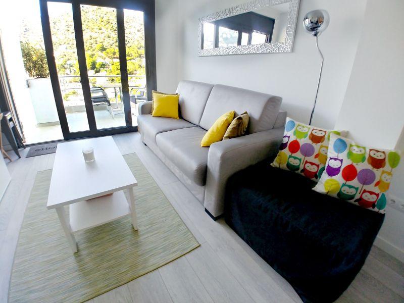 Sala de estar Locação Apartamentos 117038 Rosas
