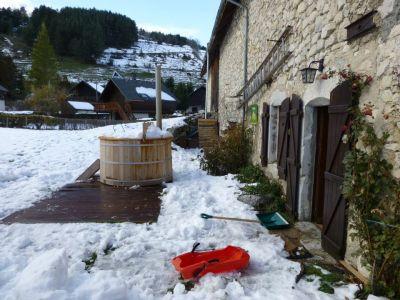 Vista do terra�o Loca��o Casa de turismo rural/Casa de campo 66151 Gresse en Vercors