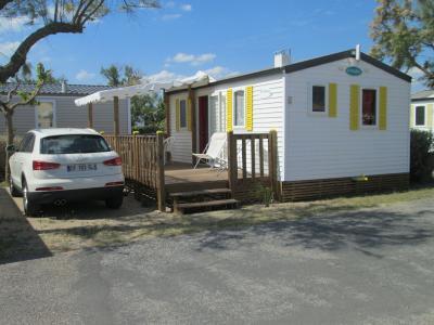 Vista do terra�o Loca��o Mobil Home 81473 Sete