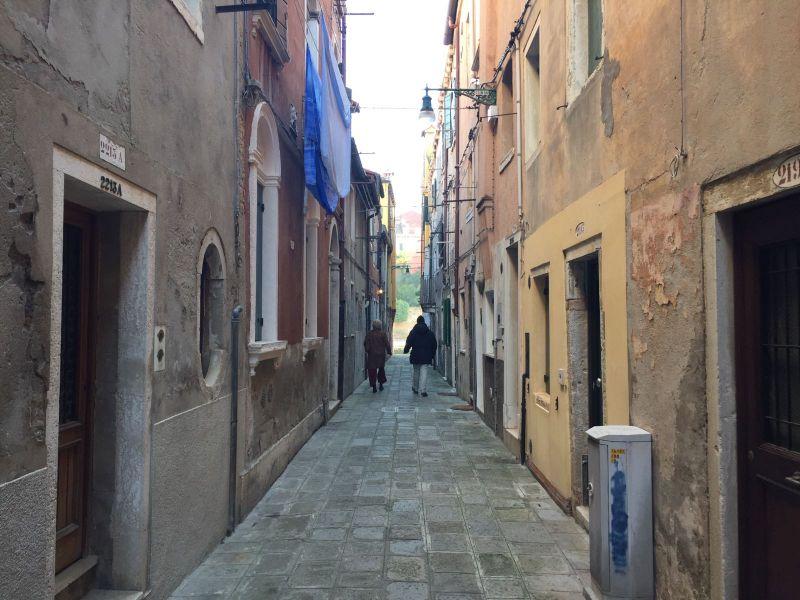 vista da varanda Locação Apartamentos 86011 Veneza