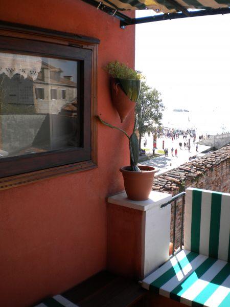 Vista do terraço Locação Apartamentos 86011 Veneza