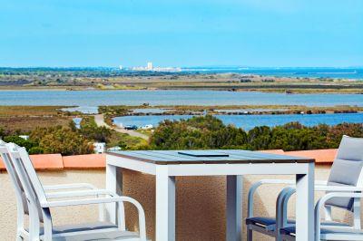 Vista do terraço Locação Vivenda 101272 Saint Pierre la Mer