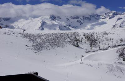 vista da varanda Loca��o Est�dio 80659 Luchon Superbagneres