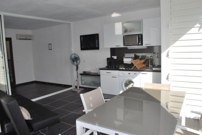 Sala de estar Locação Apartamentos 90989 Saint Francois
