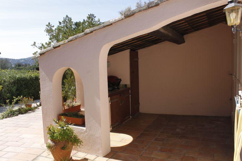 Cozinha de verão Locação Casa 93909 Saint Tropez