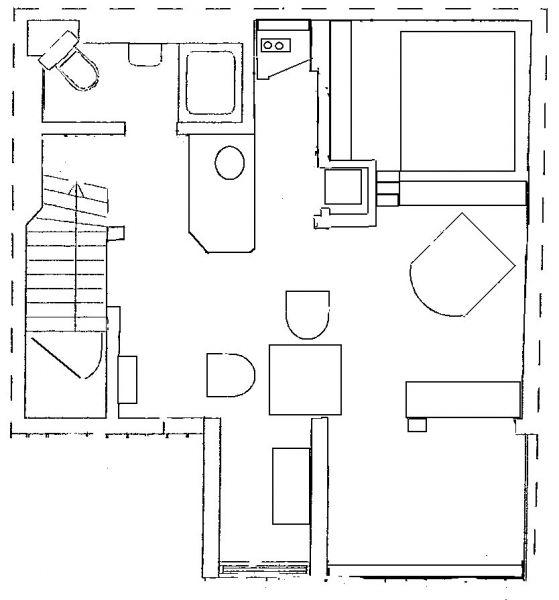 Planta do alojamento Locação Apartamentos 106237 Lisboa