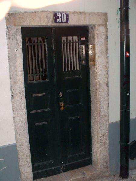 Entrada Locação Apartamentos 106237 Lisboa