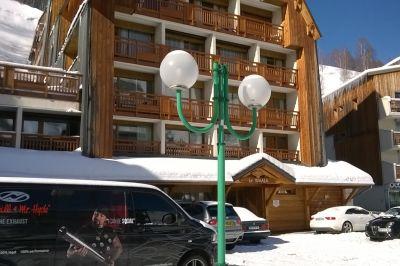 Vista exterior do alojamento Locação Apartamentos 106447 Les 2 Alpes
