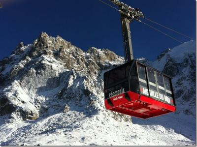 vista da varanda Locação Estúdio 67211 Chamonix Mont-Blanc