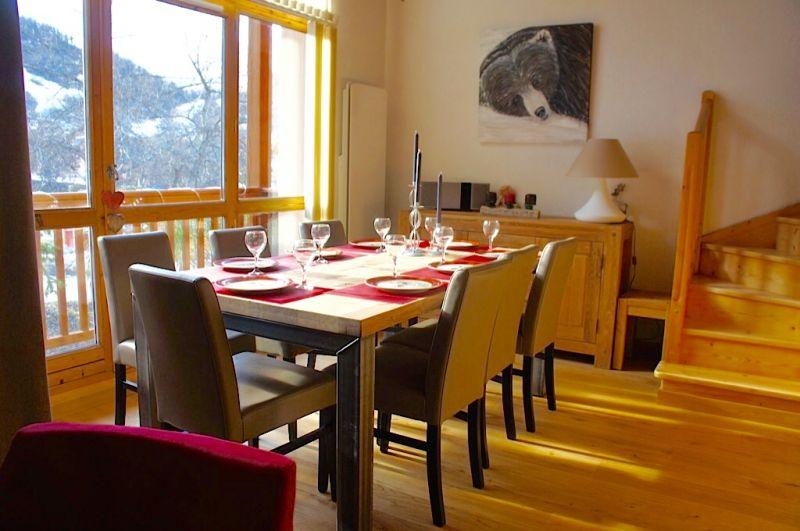 Sala de jantar Locação Apartamentos 74411 Valloire
