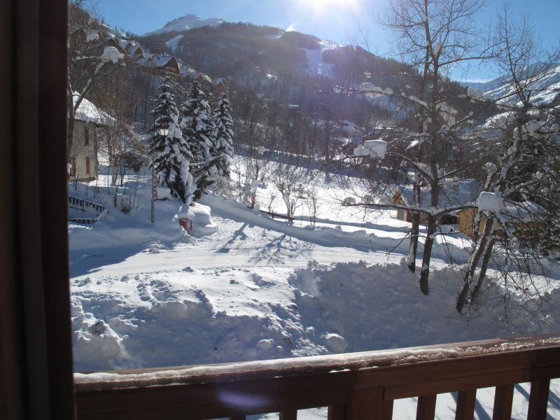 vista da varanda Locação Apartamentos 74411 Valloire