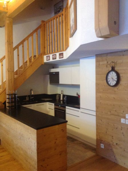 Cozinha americana Locação Apartamentos 74411 Valloire