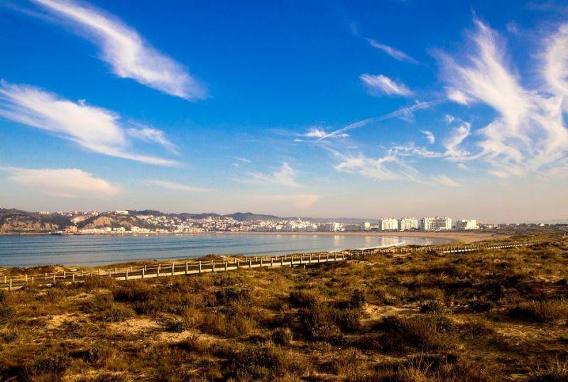 Vista dos arredores Locação Apartamentos 74983 São Martinho do Porto