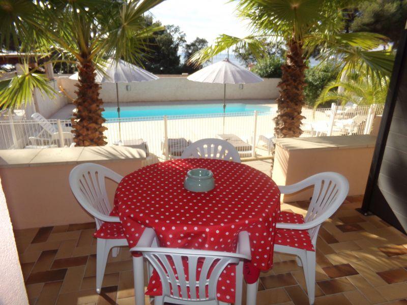 Vista do terraço Locação Apartamentos 104694 Sainte Maxime