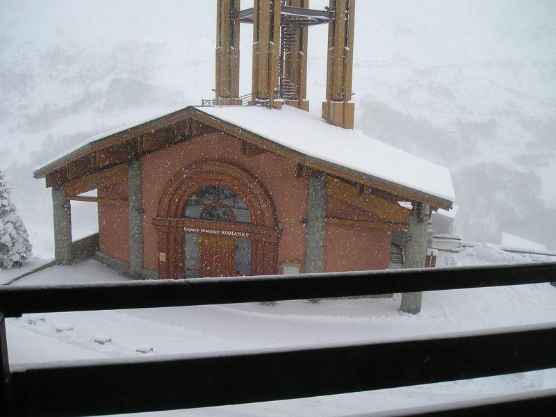vista da varanda Locação Apartamentos 117199 Les Menuires