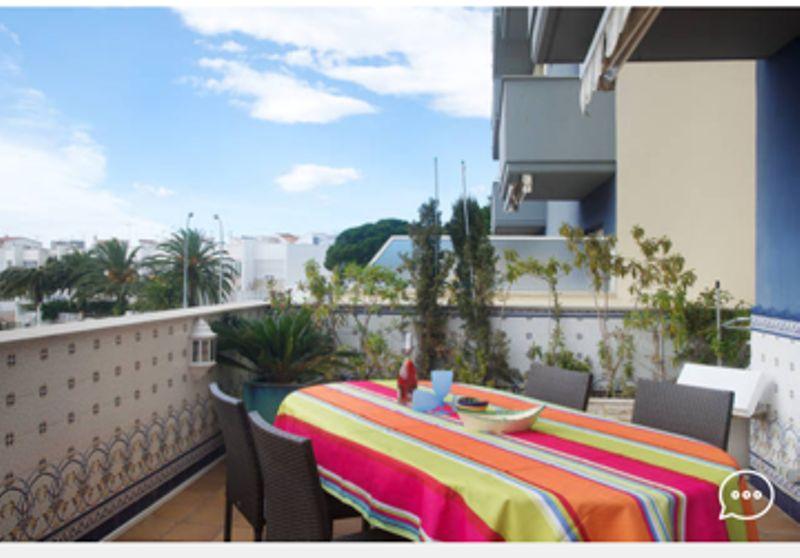 Vista do terraço Locação Apartamentos 8306 Rosas