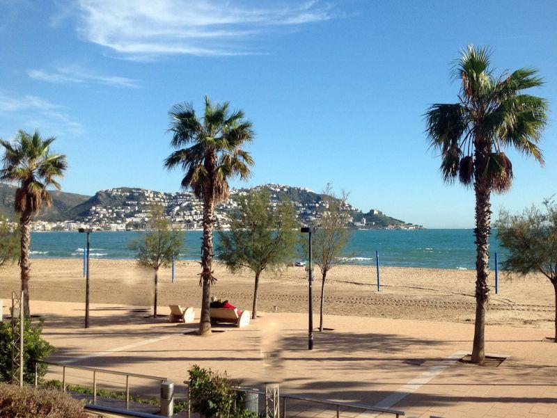Vista do terraço Locação Apartamentos 63973 Rosas