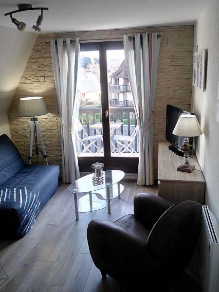Sala de estar Locação Apartamentos 84925 Cabourg
