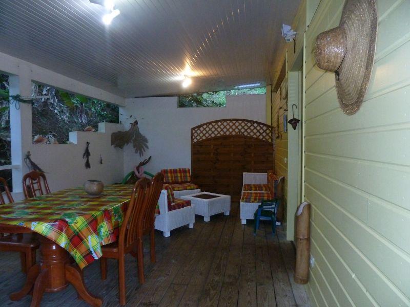 Vista do terraço Locação Vivenda 91967 Trinité