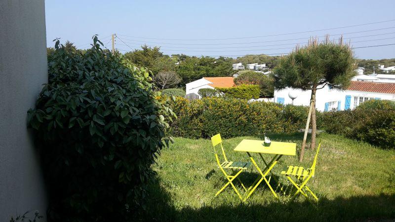 Vista do terraço Locação Casa 115719 Barbâtre