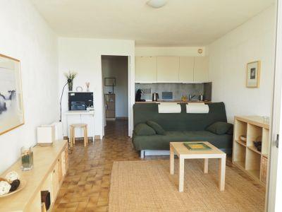 Sala de estar Locação Estúdio 103799 La Grande Motte
