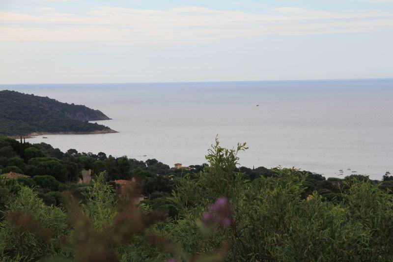 Vista do terraço Locação Vivenda 115509 Saint Tropez