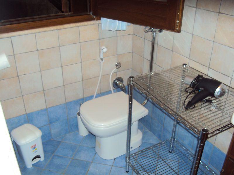 WC separado Locação Apartamentos 80627 Scopello