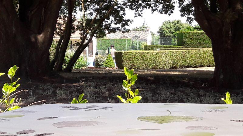 Vista do terraço Locação Casa 92007 Pornic
