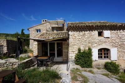 Vista exterior do alojamento Loca��o Casa de turismo rural/Casa de campo 94905 Forcalquier