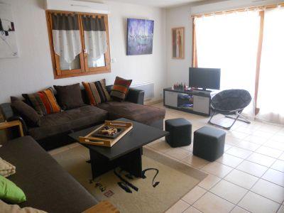 Sala de estar Loca��o Apartamentos 72684 Vaujany