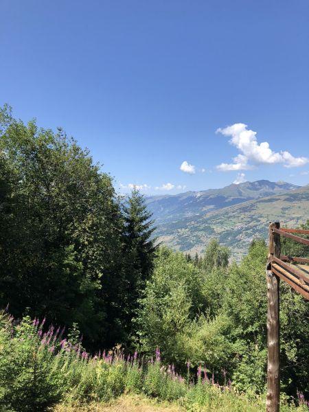 Vista do terraço Locação Chalé 89274 Les Arcs