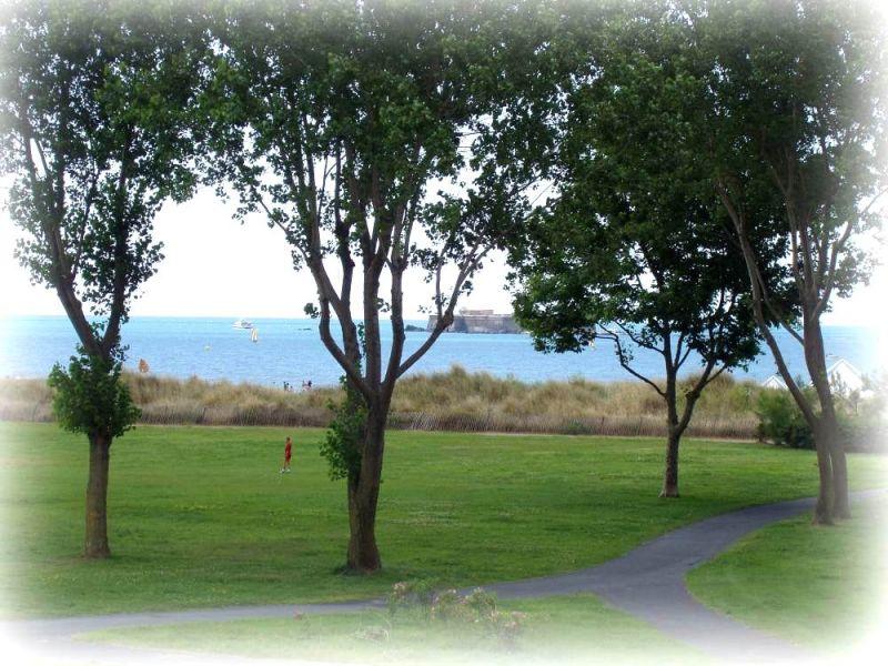 Vista desde do alojamento Locação Apartamentos 95210 Cap d'Agde