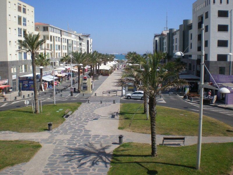 Vista dos arredores Locação Apartamentos 95210 Cap d'Agde