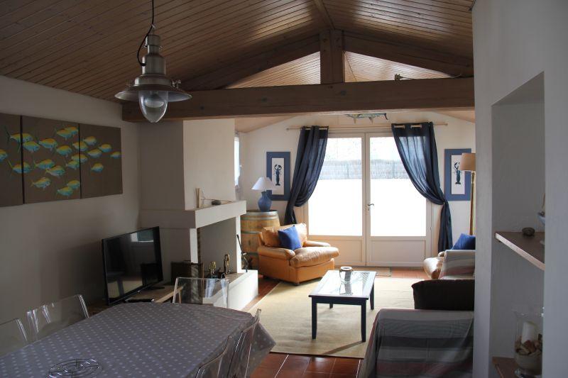 Sala de estar Locação Casa 107986 La Guérinière