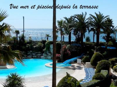 Vista do terraço Locação Apartamentos 82546 Cannes