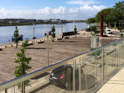 vista da varanda Loca��o Apartamentos 87313 Vila do Conde