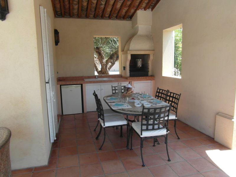 Cozinha de verão Locação Vivenda 100051 Sainte Maxime
