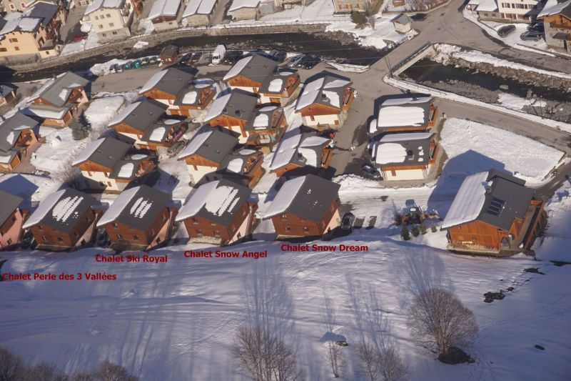 Vista exterior do alojamento Locação Chalé 100576 Les Menuires