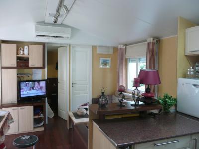 Sala de estar Locação Mobil Home 74240 Vias Praia