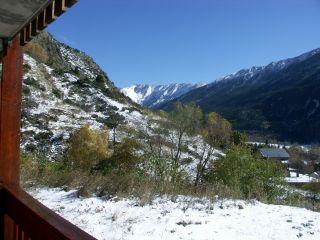 vista da varanda Loca��o Est�dio 94636 Port� Puymorens