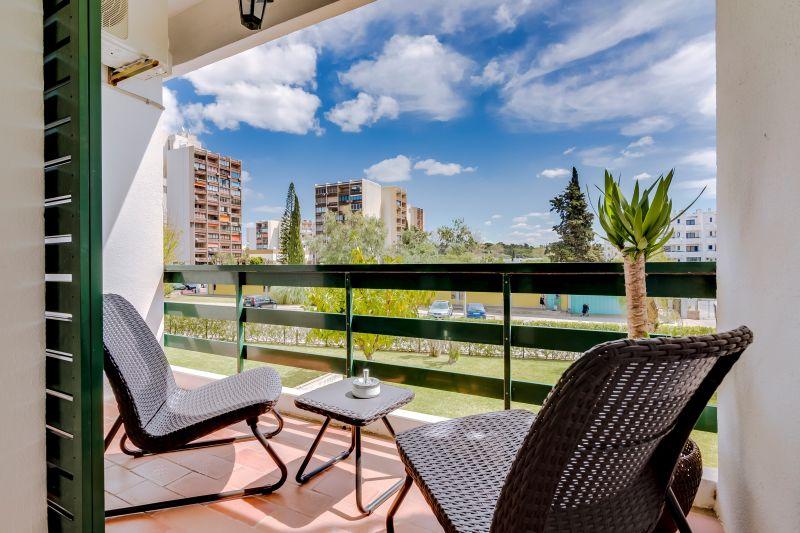 Vista do terraço Locação Estúdio 109089 Vilamoura